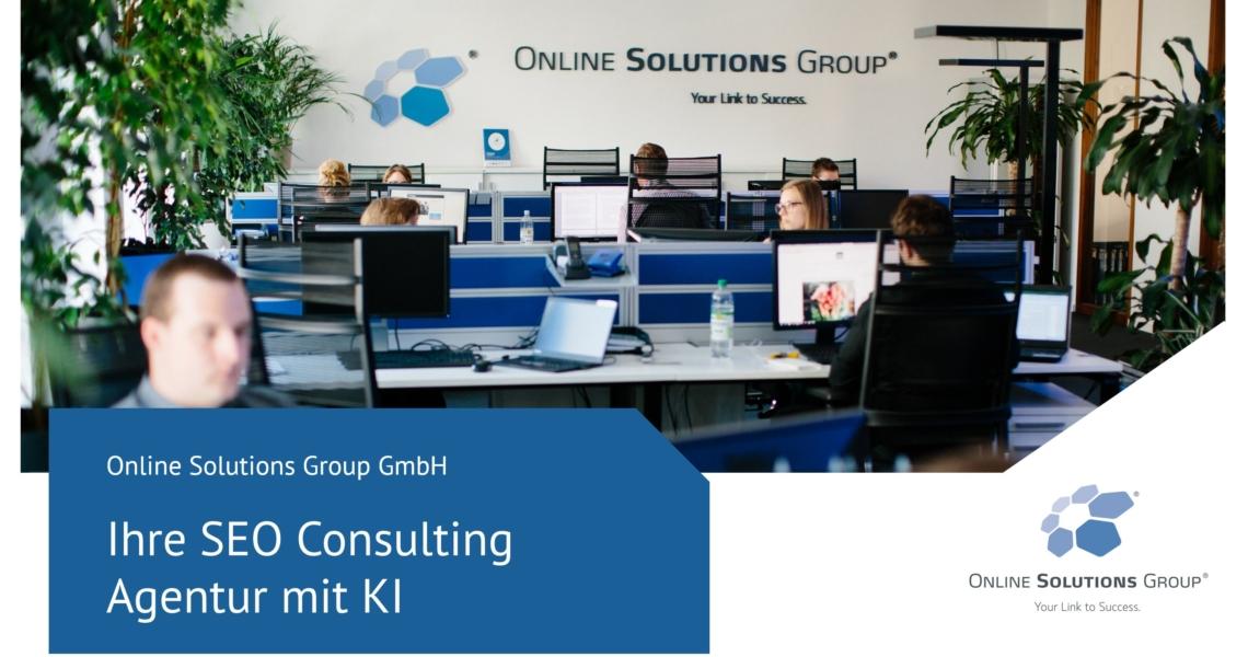 OSG SEO Consulting Agentur München