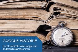Titelbild Google Historie