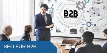 Titelbild SEO für B2B
