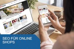 Titelbild SEO für Online Shops