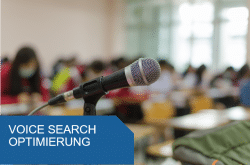 Titelbild Voice Search Optimierung