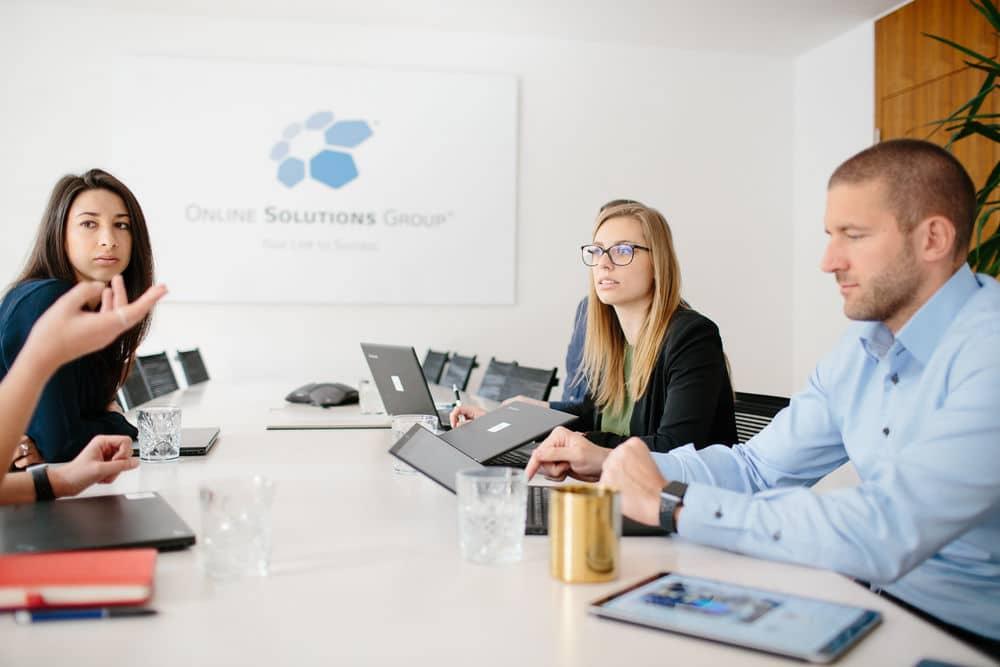 OSG Team bei der Arbeit
