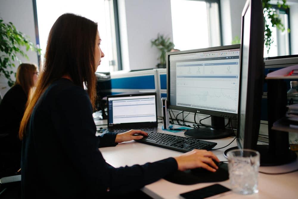 OSG Mitarbeiter beim Usability Konzept
